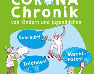Plakat Corona-Chronik