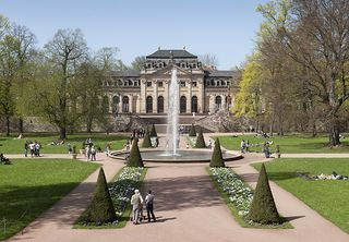 Orangerie and Schlossgarten