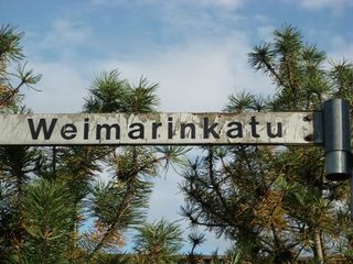 "The ""Weimar street"" in Hämeenlinna"